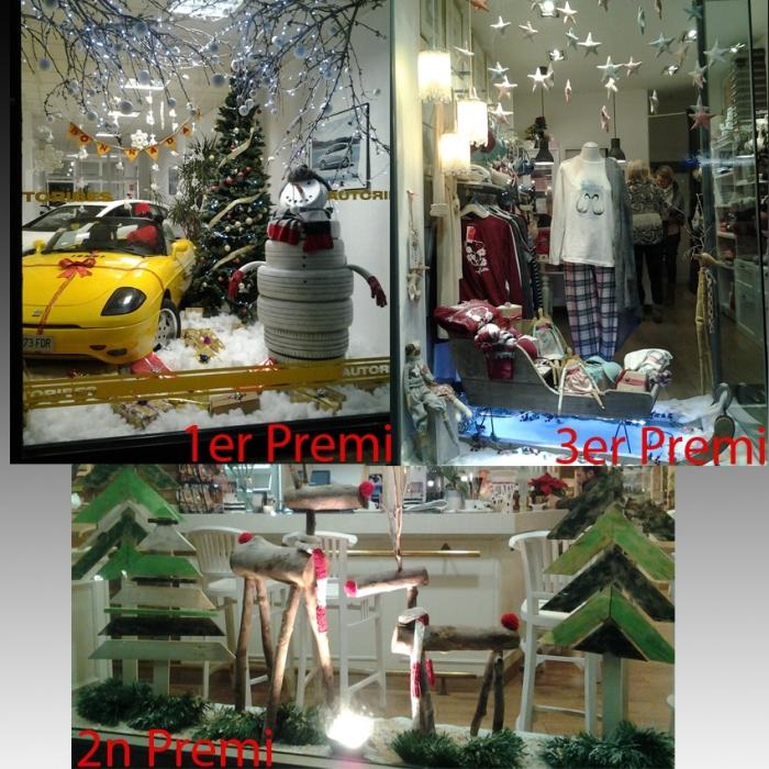 Comercio entrega los premios del concurso de escaparates de Navidad