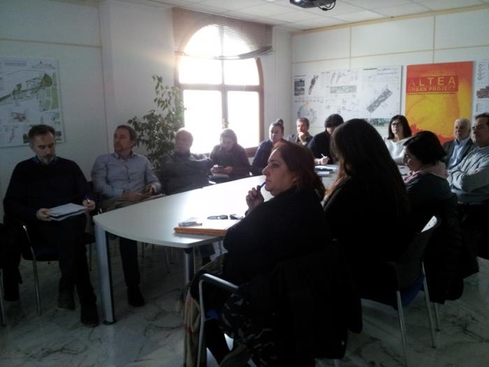 Imma Orozco fa partícep al Consell Local d'Urbanisme de l'Estratègia per a la regeneració de la façana marítima