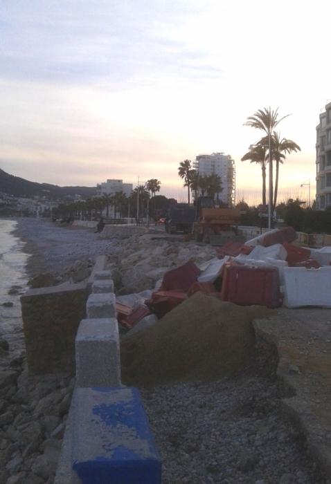 El temporal causa danys per valor de més de dos milions d'euros