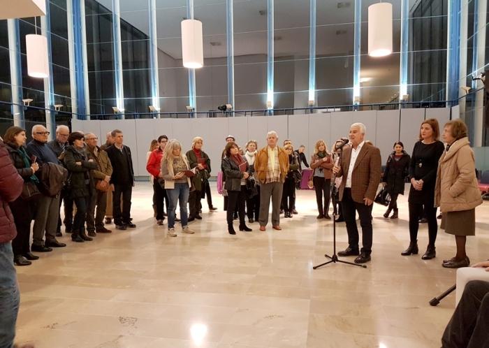 Altea ret un sentit homenatge a Batiste Sant Rok amb una exposició de la seua obra