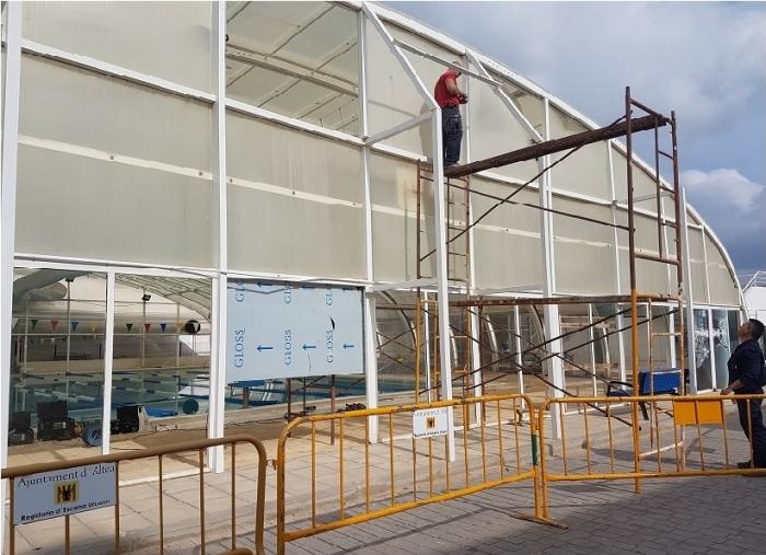 La piscina municipal tornarà a estar operativa al mes de març