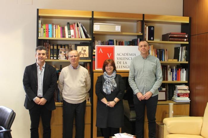 La Càtedra Enric Valor i l'Acadèmia Valenciana de la Llengua estudien col·laborar en diferents projectes