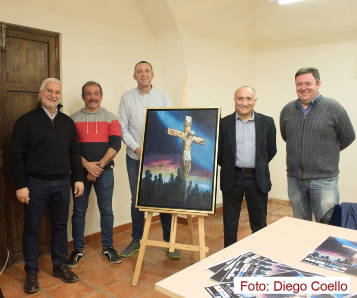El pintor alteà,Toni Llinares, realitza el cartell anunciador de ''La Passió''
