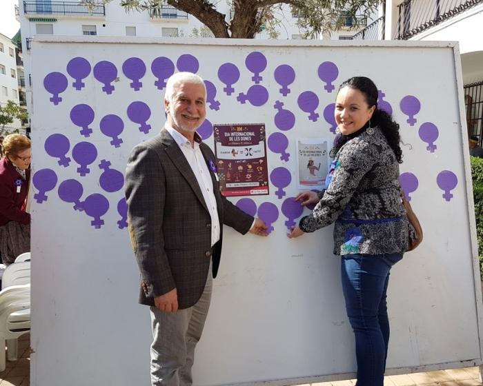 Altea secunda el Paro Internacional de Mujeres contra la violencia de género y la igualdad en el Día de la Mujer