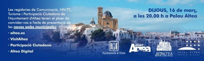 L'Ajuntament renova la imatge i la funcionalitat de les seues pàgines web