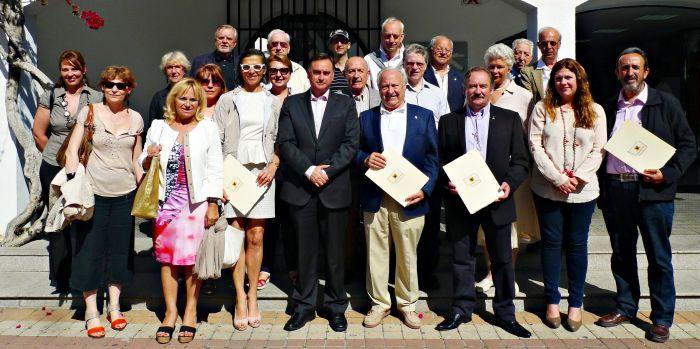 L'Alcalde es reuneix amb representants del Rotary Club de França i Alemanya