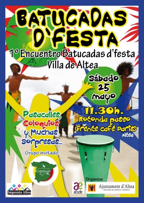 L'Ajuntament programa un nou cap de setmana juvenil, amb la I Trobada de Batukadas i 'Street Basketball'