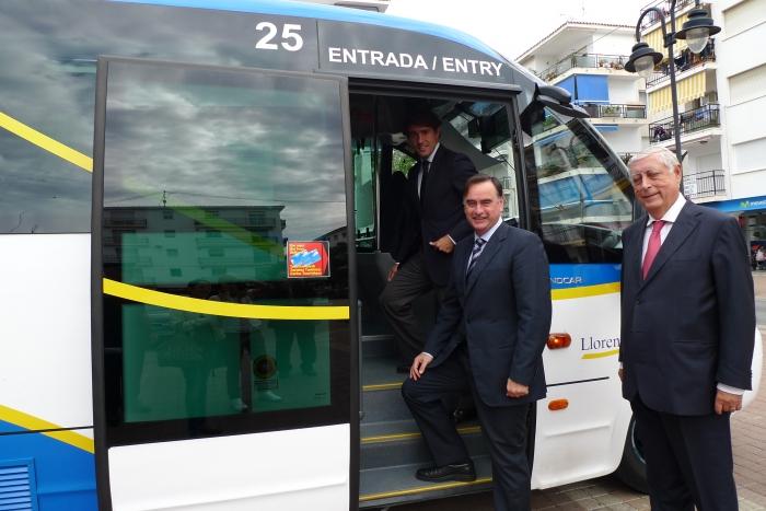 L'Ajuntament potencia l'ús del transport públic per a connectar el centre urbà d'Altea amb el Nucli antic i amb Altea la Vella