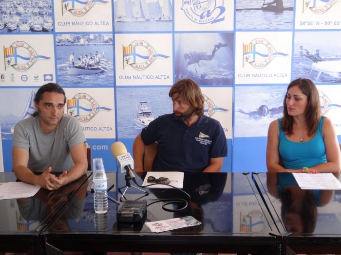 El Club Nàutic organitza una nova Neteja de fons Marins en la Badia d'Altea