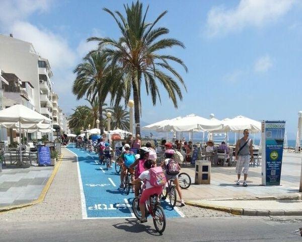 El Carril Bici, un atractiu turístic per a Altea