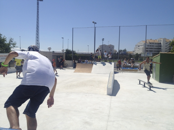 Els alteans ja tenen Pista de Skate en la Ciutat Esportiva