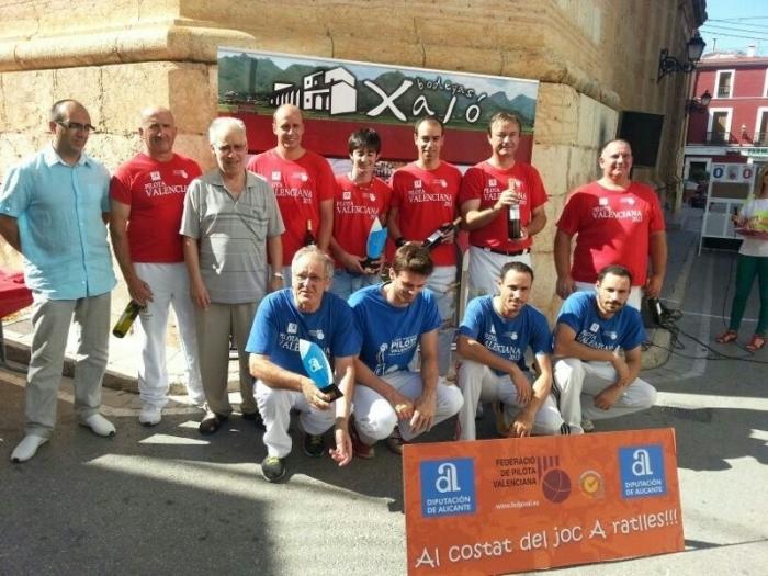 Altea campiona del trofeu Diputació d'Alacant de Pilota Valenciana modalitat A Palma
