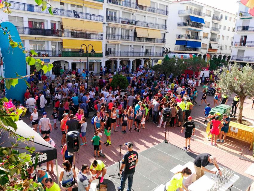 Gran èxit en la tradicional cursa popular del 9 d'octubre amb més de 600 participants