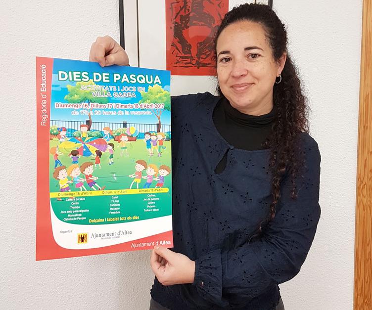 Villa Gadea acollirà jocs i activitats per als xiquets i xiquetes els dies de Pasqua