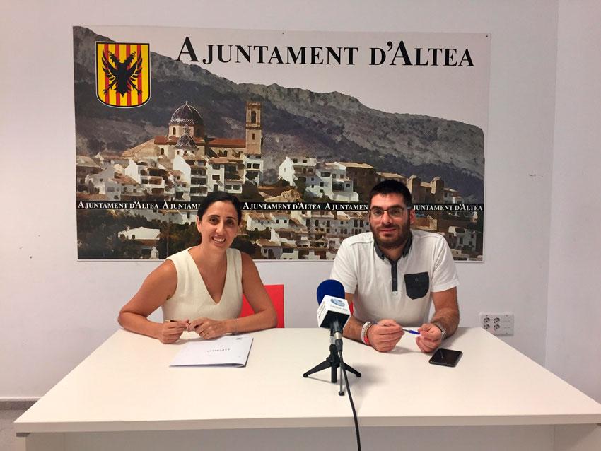 El Ayuntamiento de Altea y la empresa Massmedia Broadband firman un convenio de colaboración para la difusión de contenidos