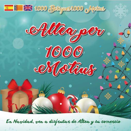 Campanya nadalenca de Comerç, 'Altea per 1.000 motius' i programació d'activitats de Nadal a Altea