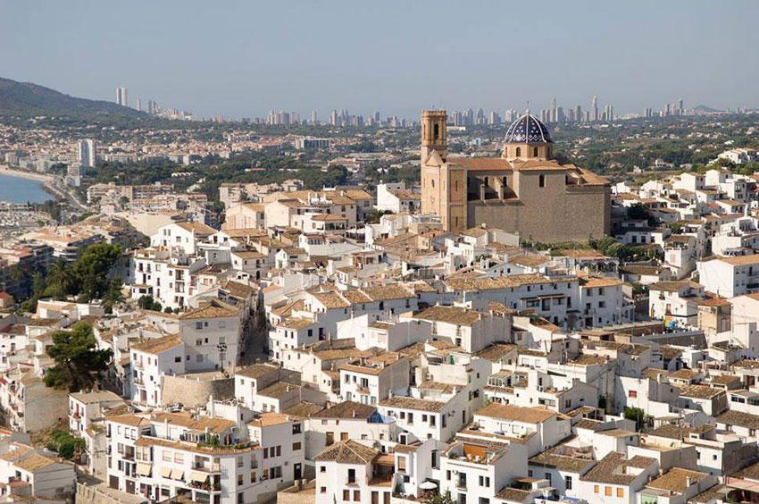 Altea entre los municipios más solicitados en el bono viaje de Turisme CV