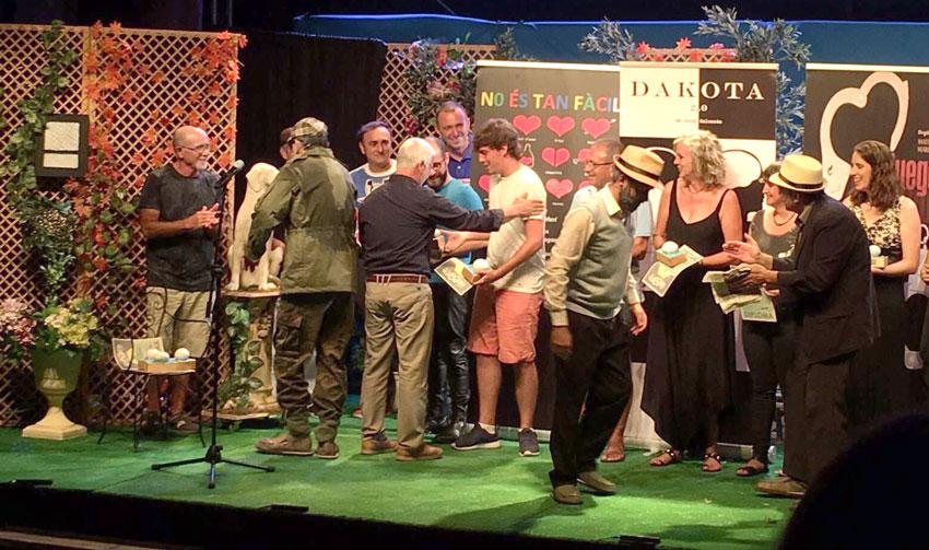 Pla i Revés clausura la XV edició d'Alteatre, el Certamen Nacional de Teatre Amateur d'Altea, amb l'estrena de l'obra ''Més enllà de la tanca''
