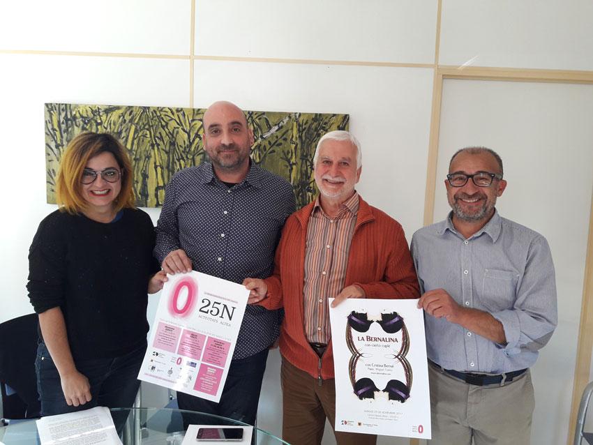 La Càtedra Anetta Nicoli de la UMH commemora a Altea el Dia Internacional contra la Violència Masclista