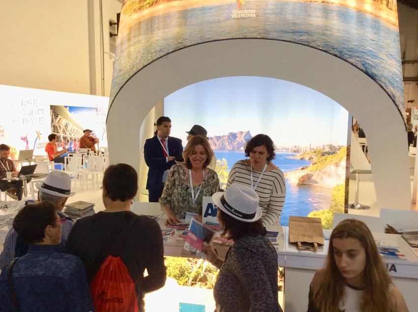 Turisme valora de forma molt positiva la promoció d'Altea a la fira B-Travel de Barcelona