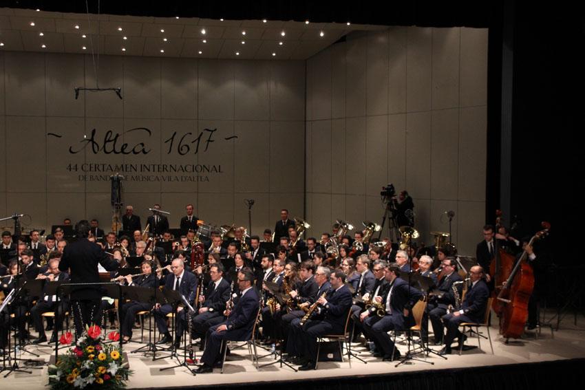 La SFA inicia la inscripció de la 45 Edició del Certamen Internacional de Música 'Vila d'Altea'