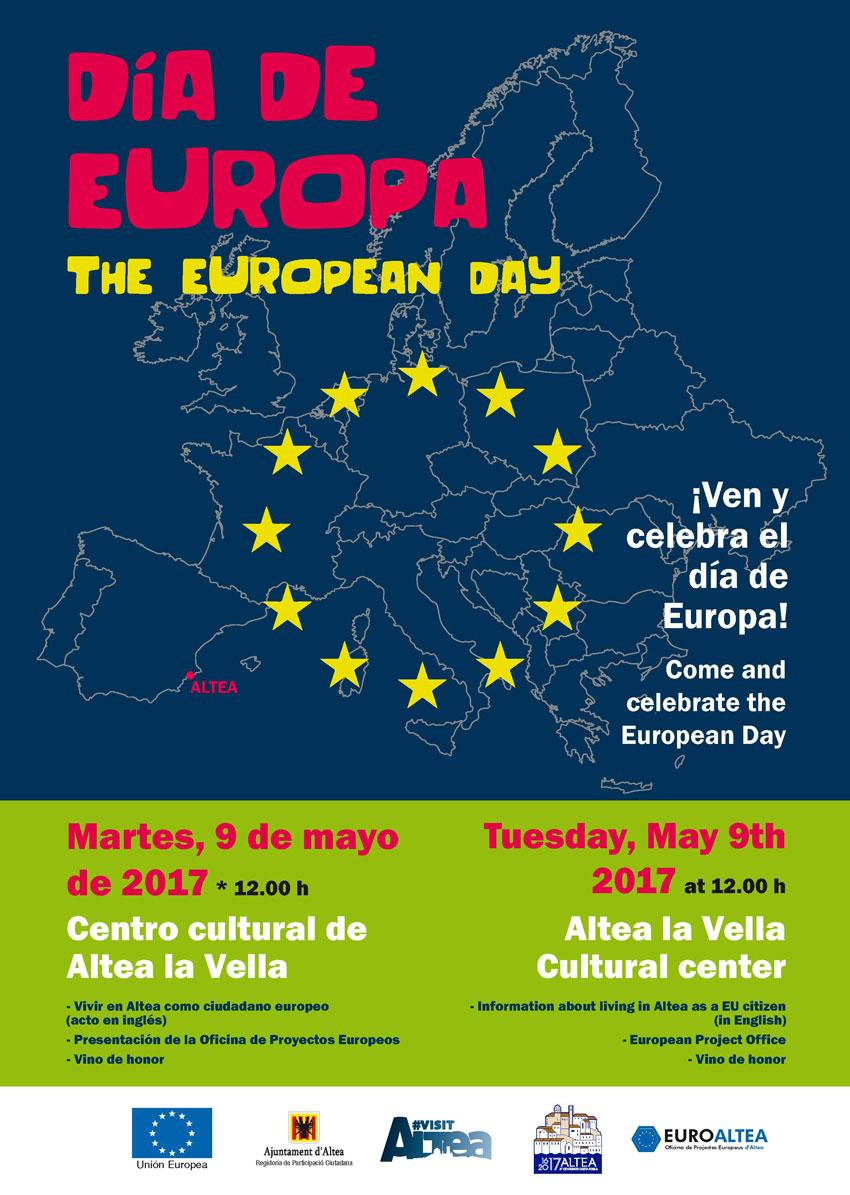 L'Ajuntament centra els actes del Dia d'Europa en la promoció de la integració dels ciutadans estrangers i la presentació de la nova Oficina de Projectes Europeus
