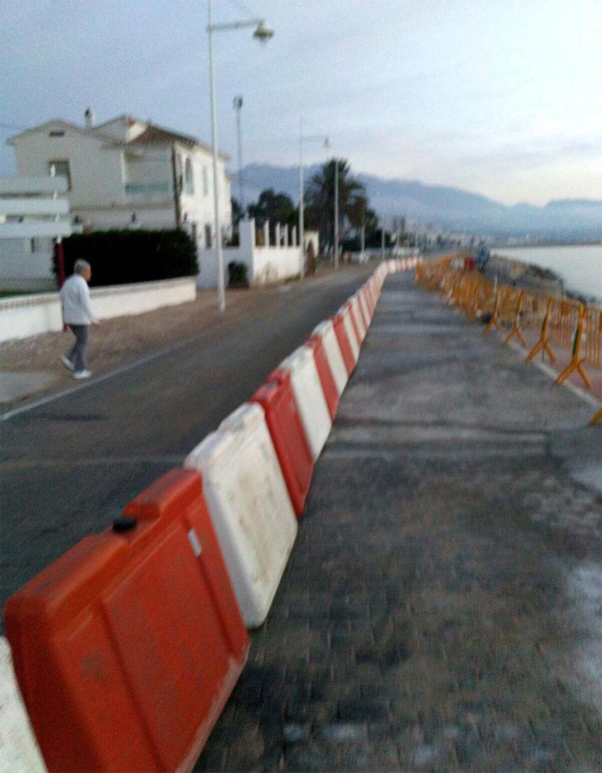 Comencen les obres provisionals a la carretera de l'Albir