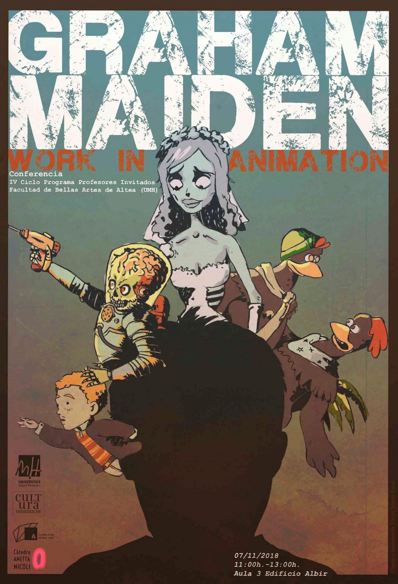 L'animador de Tim Burton donarà una conferència a Altea