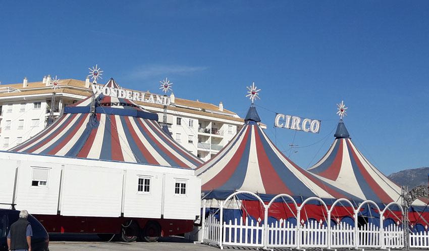 La regidoria d'Activitats autoritza la instal•lació provisional del circ sense animals ubicat en el Parquing del Mercadet