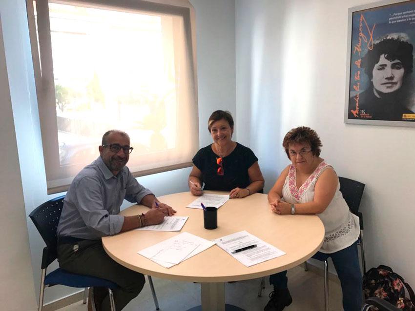 L'edil de Benestar Social ha signat diversos convenis que compten amb una subvenció per a les associacions Integra, ANÉMONA, AFEM i Doble Amor