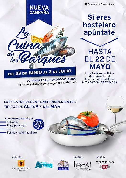 """Fins dilluns que ve, 22 de maig, es podran inscriure els establiments hostalers interessats a participar en la nova jornada gastronòmica """"La Cuina de les Barques"""""""