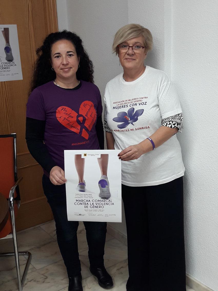 Xerrades i una gran marxa comarcal per commemorar el dia Mundial Contra la Violència de Gènere