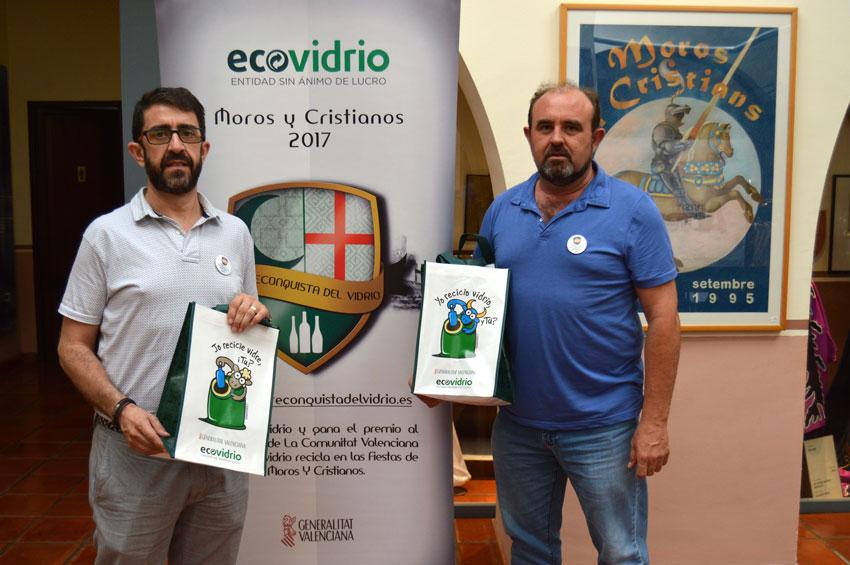 La Regidoria de Festes i Ecovidrio fomentaran el reciclatge de vidre durant les Festes Patronals