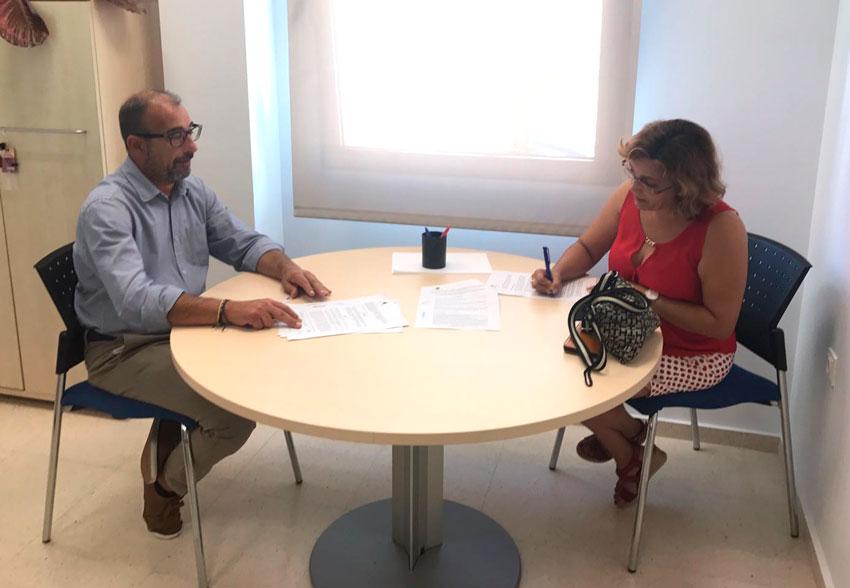 La Regidoría de Benestar Social signa un conveni amb l'entitat Corazón Expres