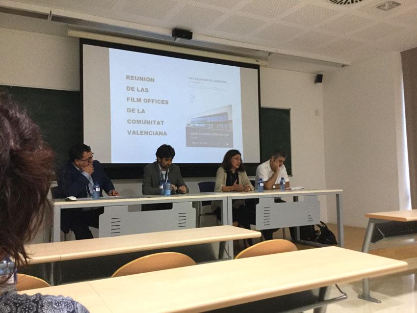 L'Ajuntament d'Altea assisteix a la reunió de les Films Offices de la Comunitat Valenciana emmarcada dins del Fòrum Valencià de l'Audiovisual