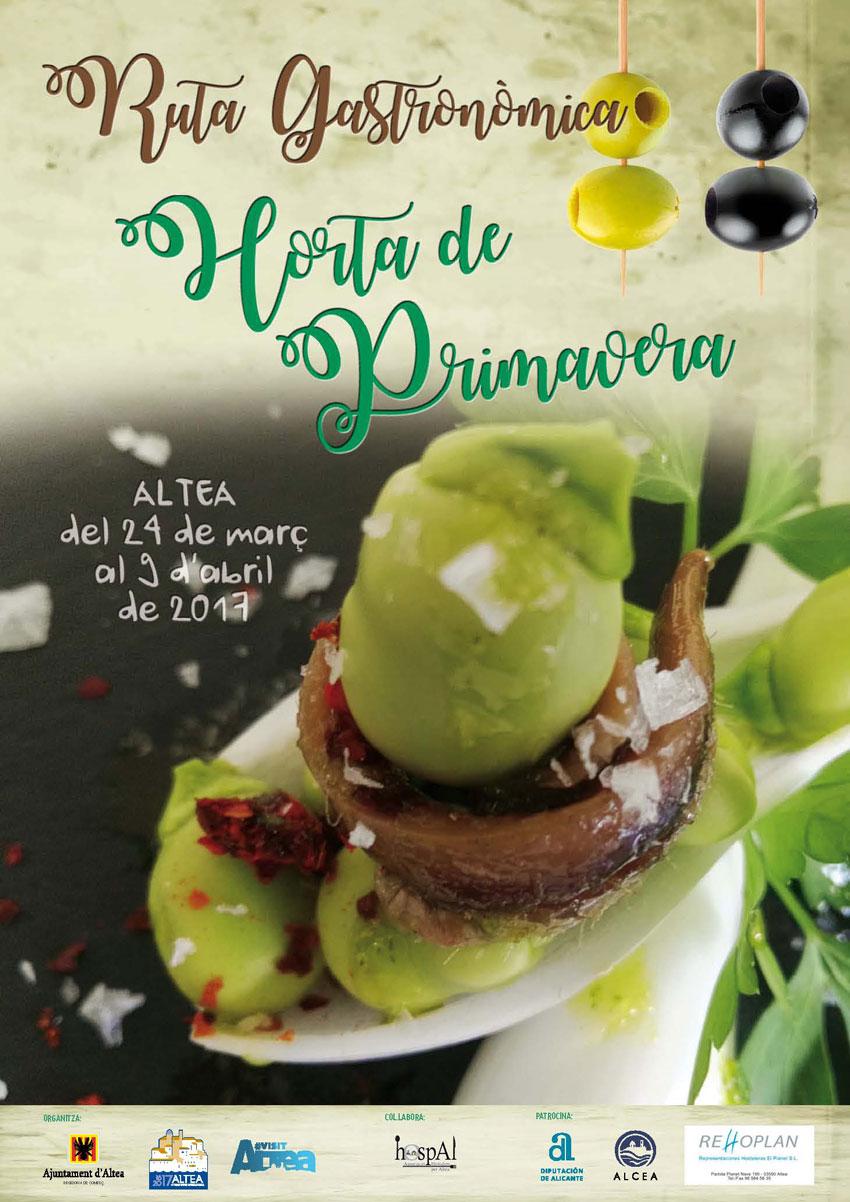 La Regidoria de Comerç ha anunciat els guanyadors de la ruta gastronòmica ''Horta de Primavera''