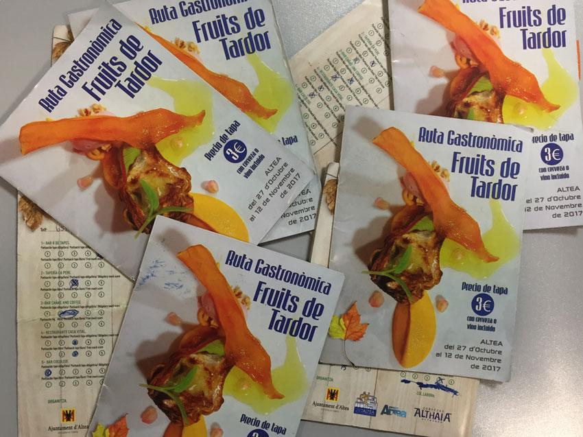 """Comercio da a conocer los ganadores de la ruta de la tapa """"Fruits de Tardor"""