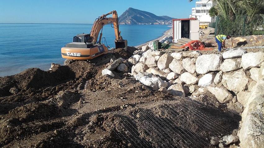 L'Ajuntament informa sobre les obres de millora i condicionament de les platges d'Altea