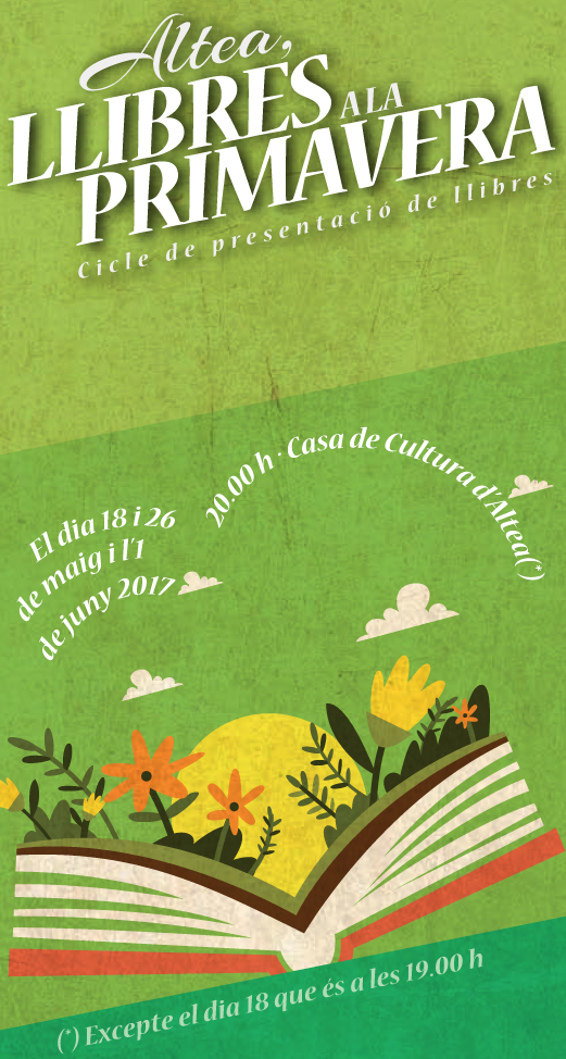 Nova edició del cicle ''Altea, llibres a la primavera''