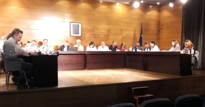 El pleno aprueba acogerse al Plan Provincial de Cooperación 2018