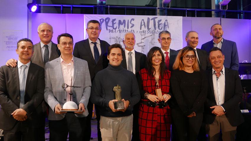 Las letras valencianas contemporáneas vuelven a ser protagonistas en Altea durante la entrega de sus premios