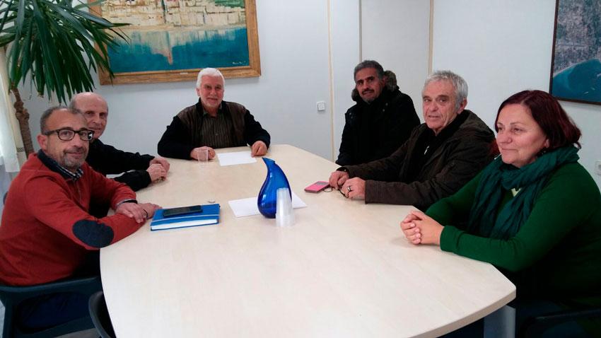 L'Alcalde i el regidor de Benestar Social es reuneixen amb el Delegat per a Alacant del Poble Sahrauí
