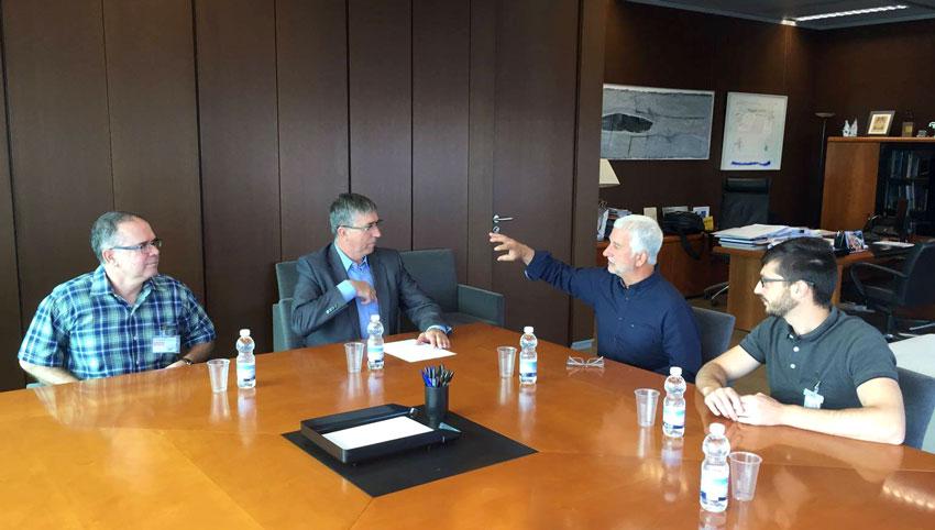 L'alcalde i regidors de l'equip de govern mantenen reunions de treball amb diferents Conselleries amb la finalitat de tractar temes d'interès per a Altea