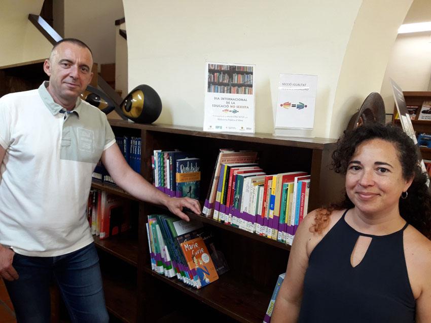 La Biblioteca Municipal inaugura una secció d'Igualtat en el Dia Internacional de l'Educació no Sexista