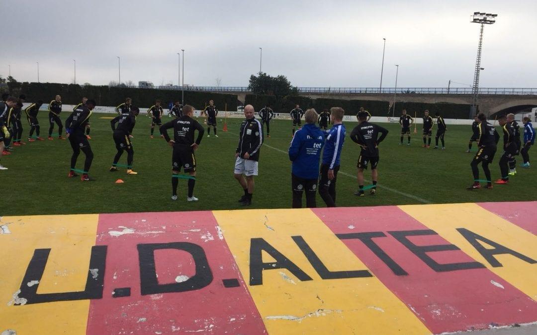 El IK Start, equip de la Primera Divisió de futbol de Noruega, farà la seua preparació esportiva a Altea fins diumenge