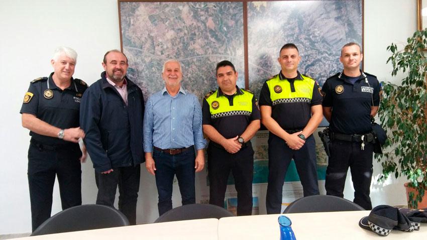 En el dia d'avui han pres possessió en comissió de serveis els agents procedents de la Policia Local de l'Ajuntament de Mutxamel, Eugenio Abellán Valera i Joaquín Fernández Rodríguez