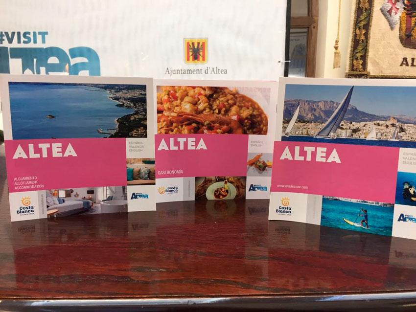 Altea permanecerá en FITUR del 17 al 21 de este mes mostrando las bondades de nuestro municipio turístico. Gastronomía local, sector náutico y nuevas tecnologías son las principales apuestas del Departamento de Turismo para la presente edición.