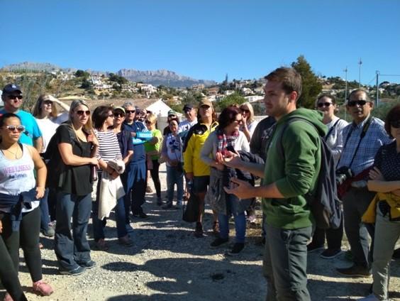 Èxit de participació a la ruta turística de Cap Blanch
