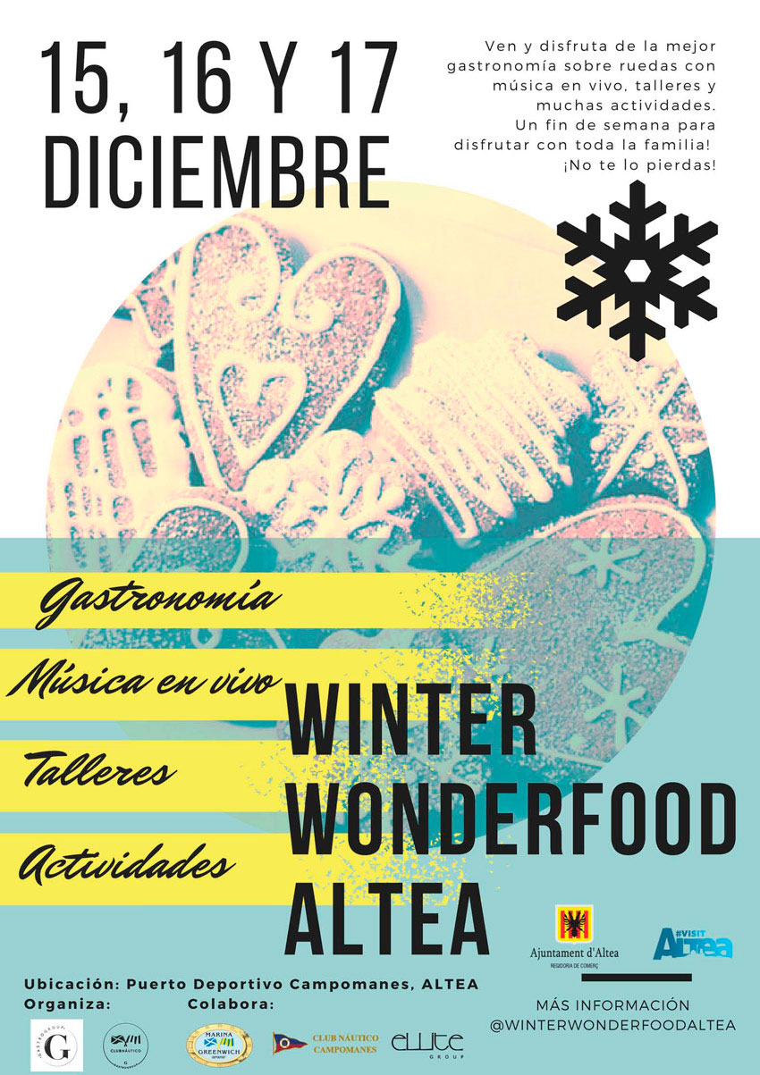 El Port Esportiu Campomanes acull la Winter Wonderfood Altea
