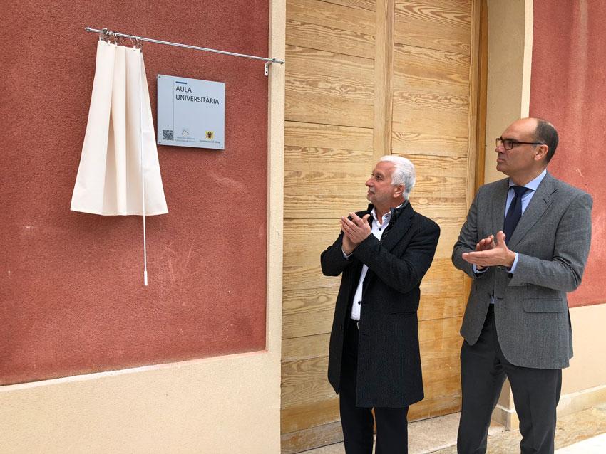 La Universitat d'Alacant impulsa a Altea la seua Aula Universitària